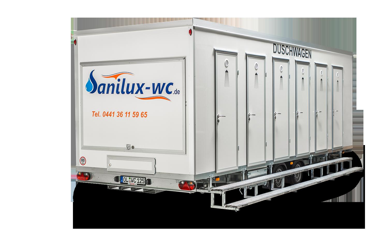 Dusche Sitzbank H?he : Duschwagen / Badmobil ? Vermietung – Sanilux-wc TOILETTENWAGEN